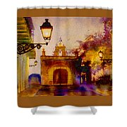 Cristo Chapel San Juan Shower Curtain