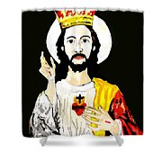 Cristo Rei Shower Curtain