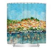 Croatia - Split Shower Curtain