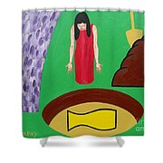 Crock Of Gold Shower Curtain