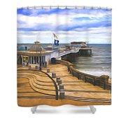Cromer Pier Norfolk Shower Curtain