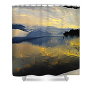 Crooked Frame Shower Curtain