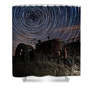 Crop Circles Shower Curtain