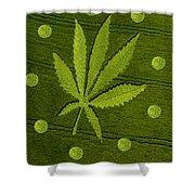 Crop Circles Shower Curtain