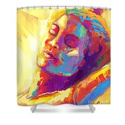 Cropped Victory Dance Shower Curtain