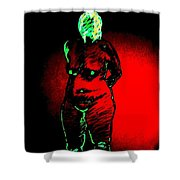 Croquis With Shadows Shower Curtain