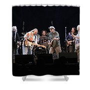 Crosby Stills Nash And Young Shower Curtain