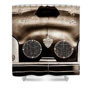 Crosley Front End Grille Emblem Shower Curtain