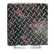 Cross Hatch Shower Curtain