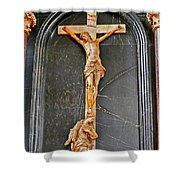 Cross Of Trier Shower Curtain