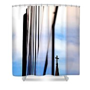Cross Spire 5077 Shower Curtain
