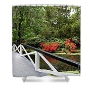Cross The Waters Shower Curtain