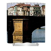 Crossing The Arno Shower Curtain