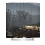 Crossing The Delta  -  150310a-021 Shower Curtain
