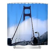 Crossing The Fog Shower Curtain