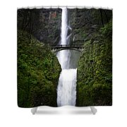 Crossing The Water Fall Shower Curtain