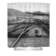 Crossover Shower Curtain