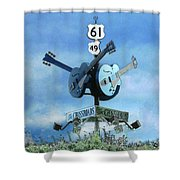 Crossroads In Clarksdale Shower Curtain