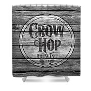 Crow Hop Brewing Shower Curtain