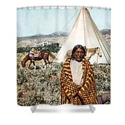 Crow Indian 1902 Shower Curtain