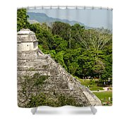 Crowd At Palenque Shower Curtain