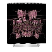 Crowded Shower Curtain