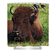 Crowded Hump L Shower Curtain