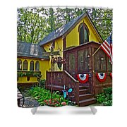 Crowell's Thicket In Asbury Grove In South Hamilton-massachusetts  Shower Curtain