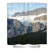 Crowfoot Glacier Shower Curtain