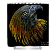 Crowhawk Original Shower Curtain