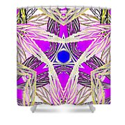 Crown Ignition Shower Curtain