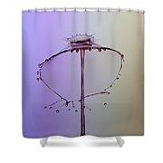 Crown On The Splash Shower Curtain