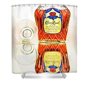 Crown Royal 3 Shower Curtain