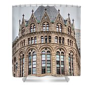 Crowned Roof Shower Curtain