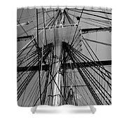 Crows Nest Shower Curtain