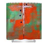 Cruciform 2 Shower Curtain by Nancy Merkle