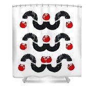 Cruel Sea Shower Curtain