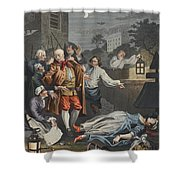Cruelty In Perfection, From The Four Shower Curtain