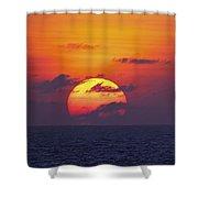Cruise Sunset Shower Curtain