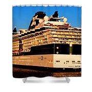 Cruise Shower Curtain