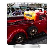 Cruisin Grand Truck Shower Curtain