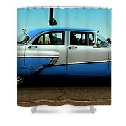 Cruising Down The Road Shower Curtain
