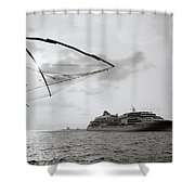 Cruising Into Cochin Shower Curtain