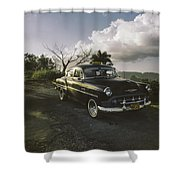 Cruising Into The Weekend.. Shower Curtain