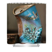 Crushed  Shower Curtain