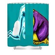 Crushing Emotion Shower Curtain by Patrick J Murphy