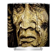 Crying Feathers Shower Curtain