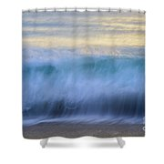 Crying Waves Shower Curtain