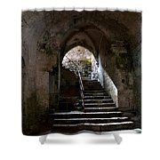 Crypt Of The Martyr San Marciano In Syracuse Shower Curtain