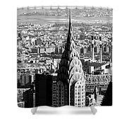 Crysler Building In New York City Shower Curtain